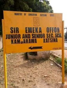 Do you know that in Katsina State there is a public school named after an Igbo man from the east?