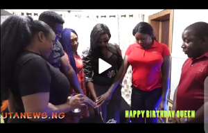 In-house Birthday Celebration of Miss Queen Youg as she added another year to her age!!
