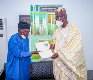 Engineer Sule visits agric minister, seeks further support, collaboration