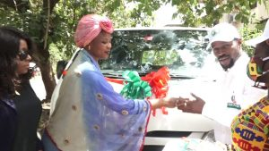 Governor Bello Support group, GYB2PYB get more boost, received delivery of 18 seat bus